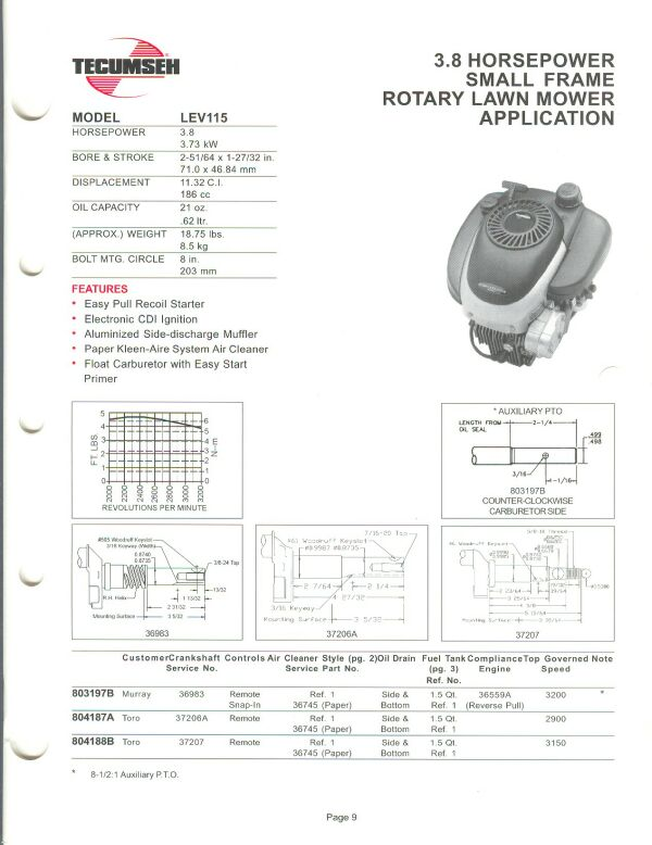 small engine suppliers engine specifications and line drawings for rh smallenginesuppliers com Tecumseh HSK60 Specs Tecumseh Engine Illustrated Parts Breakdown