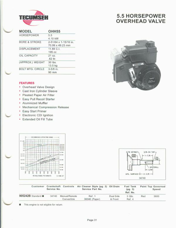 small engine suppliers engine specifications and line drawings for rh smallenginesuppliers com tecumseh h35 parts manual tecumseh h35 engine manual