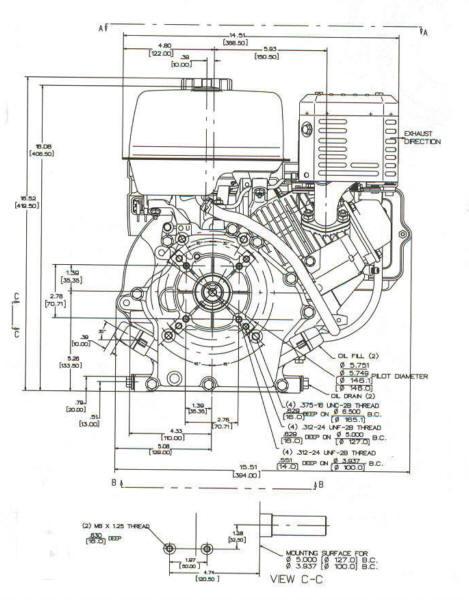 7 5 hp vanguard model series 138400 for 5 hp motor specification