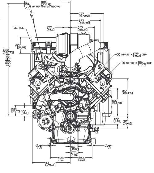 briggs and stratton v twin engine manual