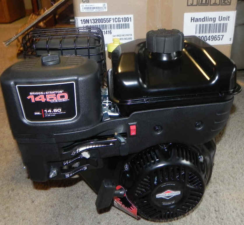Briggs & Stratton 19N132-0055-F1 1450 Series OHV
