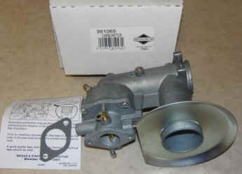 Briggs Stratton Carburetor Part No. 391065