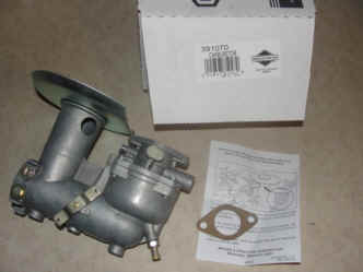 Briggs Stratton Carburetor Part No. 391070