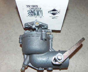 Briggs Stratton Carburetor Part No. 391889