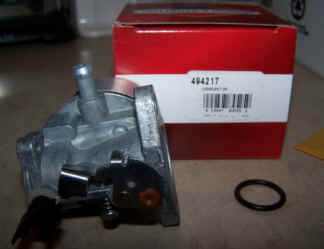 Briggs Stratton Carburetor Part No. 494217