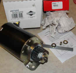 Briggs & Stratton Electric Starter Part No 497595 FKA 693054