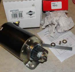 Briggs & Stratton Electric Starter Part No 497595 FKA 693054
