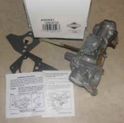 Briggs Stratton Carburetor Part No. 499491