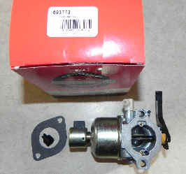 Briggs Stratton Carburetor Part No. 693773