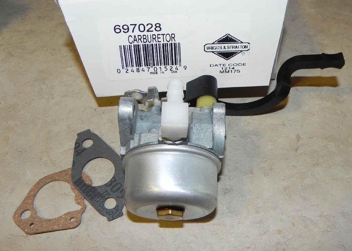 Briggs Stratton Carburetor Part No. 592679