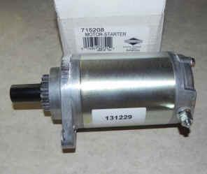 Briggs & Stratton Electric Starter Part No. 715208