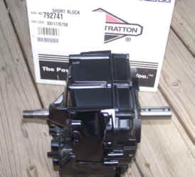 Briggs & Stratton Short Block - Part No. 498829 NKA 792741