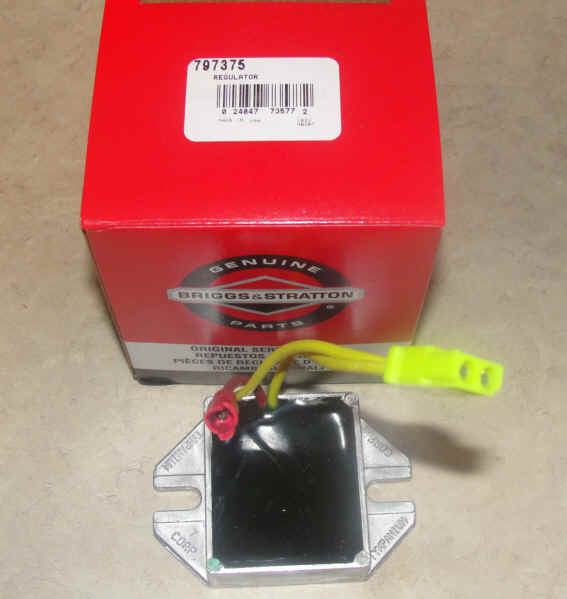 Briggs & Stratton Regulator Part No. 845907