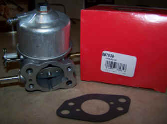 Briggs Stratton Carburetor Part No. 807639