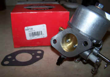 Briggs Stratton Carburetor Part No. 808725