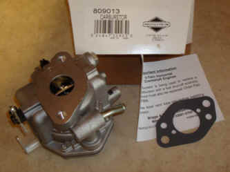 Briggs Stratton Carburetor Part No. 809013