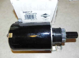 Briggs & Stratton Electric Starter Part No. 844717