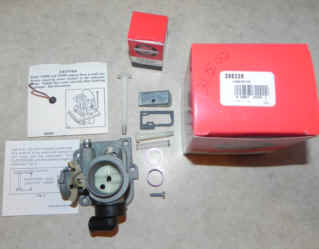 Briggs Stratton Carburetor Part No. 396336