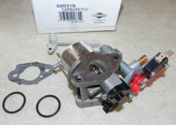 Briggs Stratton Carburetor Part No. 595318