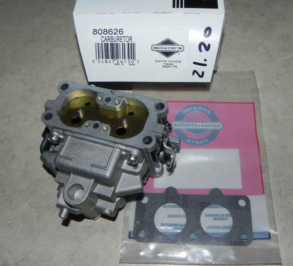 Briggs Stratton Carburetors For Small Engines 204412 Engine Diagram Carburetor Part No 808626