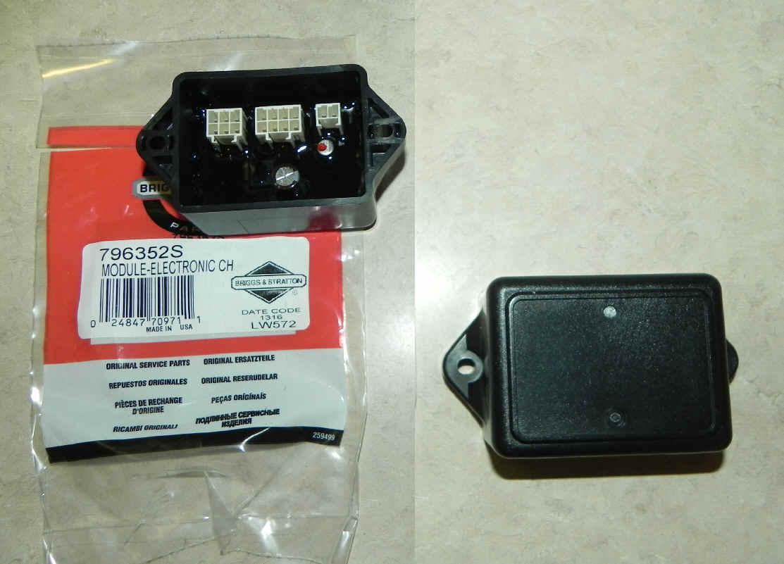 Briggs And Stratton Electronic Choke Module 796352s For Efm Carburetor Diagram Along With