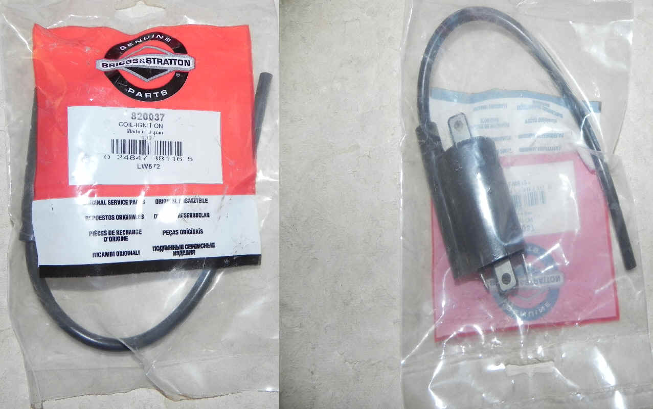 Briggs Stratton Ignition Coils For Small Engines 397358 Wiring Diagram Coil Part No 820037