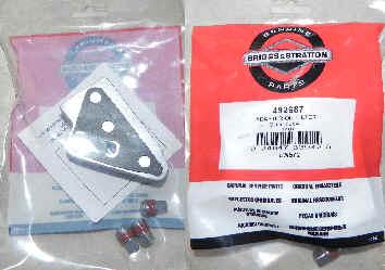 Briggs & Stratton Oil Filter Adapter Part No 492687