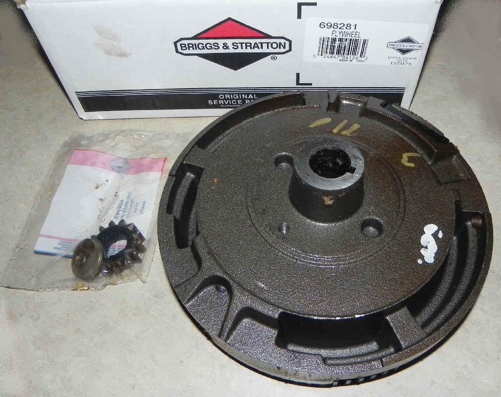 Briggs Stratton Flywheel Part No. 698281
