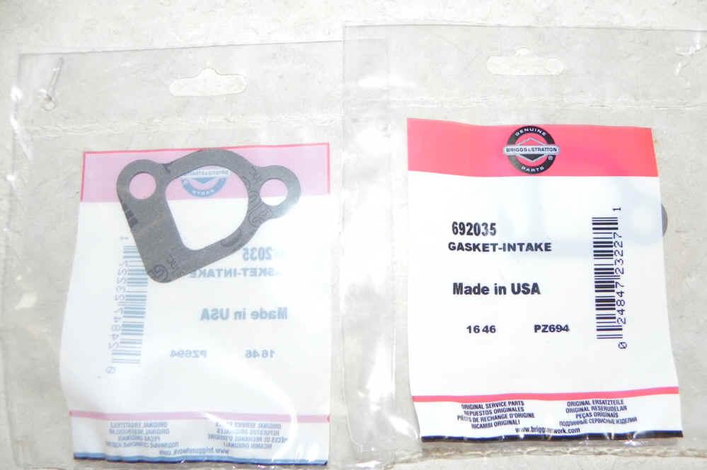 Briggs Intake Gasket Part Number 692035