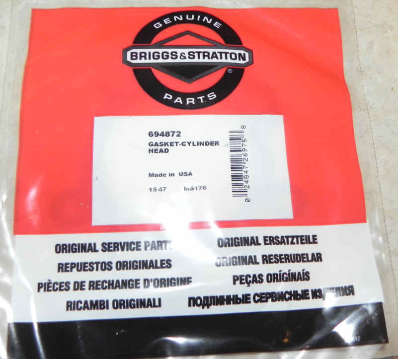 Briggs and Stratton Head Gasket 694872