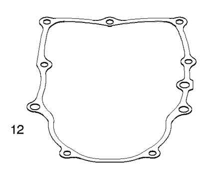 Briggs Crankcase Gasket Part Number 845254