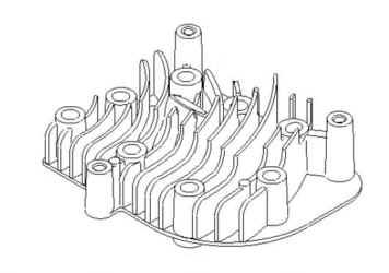 Briggs Stratton Cylinder Head Part No. 790169 FKA 690386