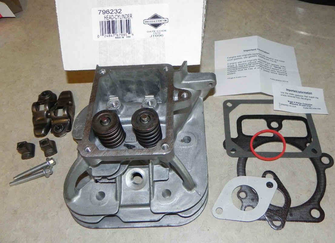 Briggs Stratton Cylinder Head Part No. 796232