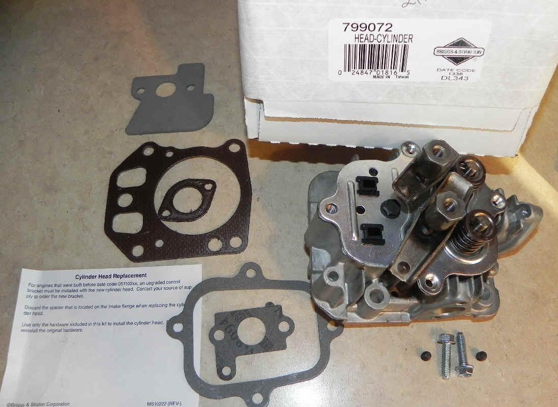 Briggs Stratton Cylinder Head Part No. 799072