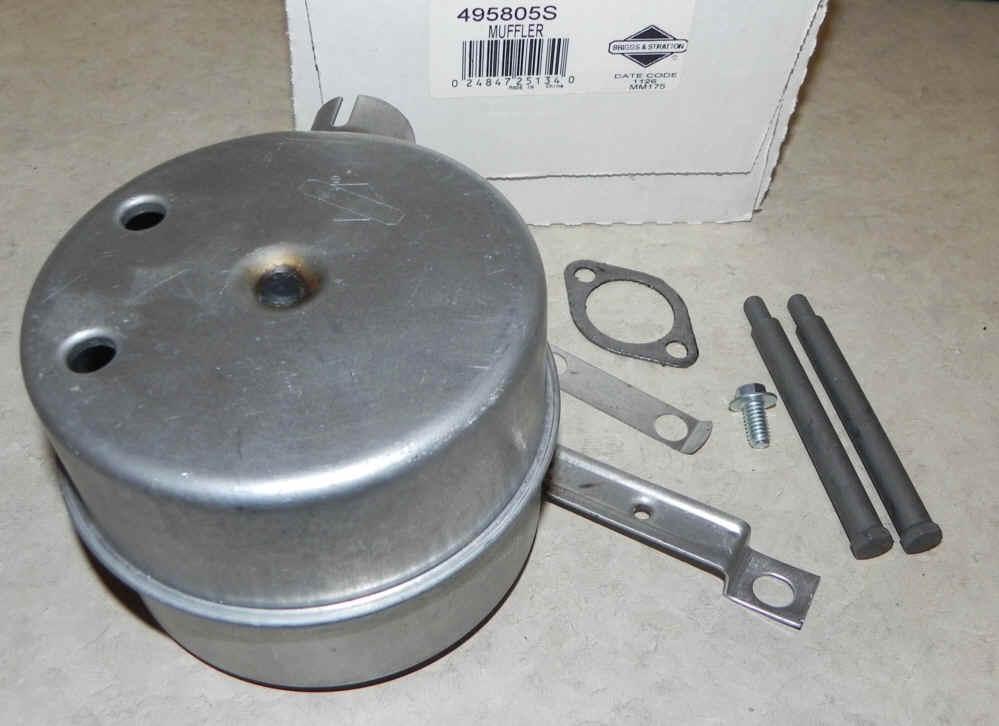 Small Engine Exhaust Parts : Briggs stratton muffler part no s