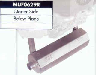Briggs Stratton Muffler for 44 and 49 Series - MUF0629R