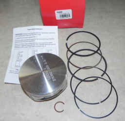 Briggs Stratton Piston Part No. 793563 020 Over Piston