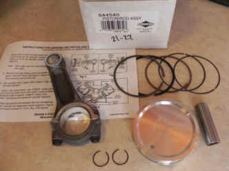 Briggs Stratton Piston  and Rod Part No. 844540