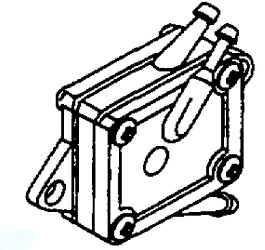 Briggs Stratton Fuel Pump Part No. 791885