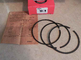 Briggs & Stratton RING SET-020 Part Number 697559