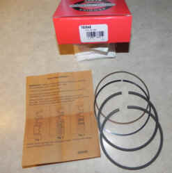 Briggs & Stratton RING SET-020 Part Number 792649