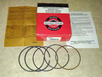 Briggs & Stratton RING SET Part Number 796645