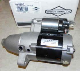 Briggs & Stratton Electric Starter Part No 845760