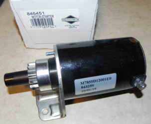 Briggs & Stratton Electric Starter Part No. 846451