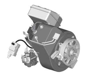 Briggs & Stratton Snow Engine 084132-0120-E8