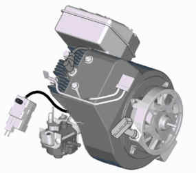 Briggs & Stratton Snow Engine 84133-0196 B8