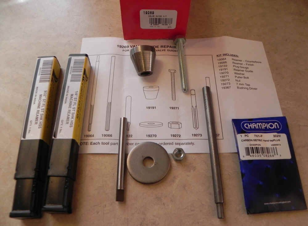 19269 Valve Guide Repair Kit