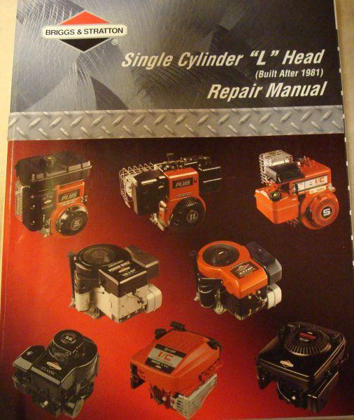 briggs repair manual part no 270962 rh smallenginesuppliers com Briggs and Stratton Engine Parts Diagram briggs and stratton repair manual 270962 pdf