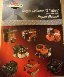 Briggs Repair Manual Part No 270962