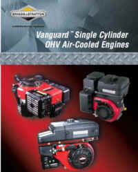272147 Repair Manual Vanguard Single Cylinder OHV